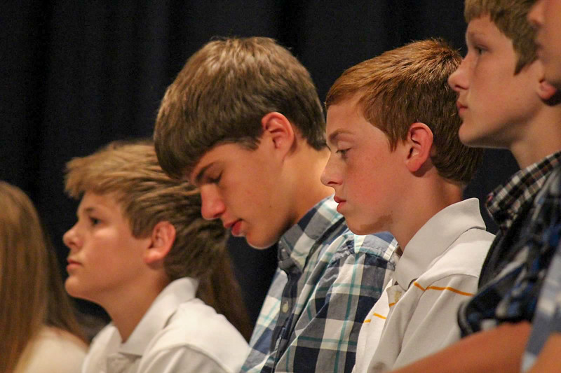 TMP-M JH Eighth Grade Awards Night