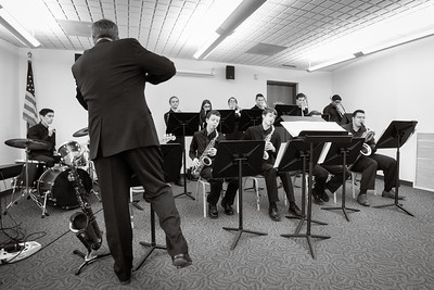 Jazz 1 and One Voice play the North Haven Library - 11/4/2017
