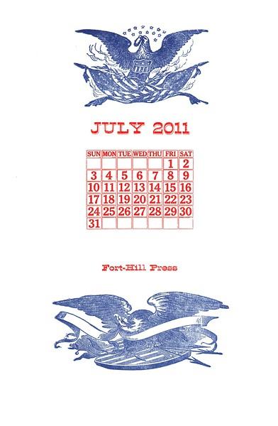 July, 2011, Fort Hill Press