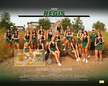 Regis girls tennis GT20