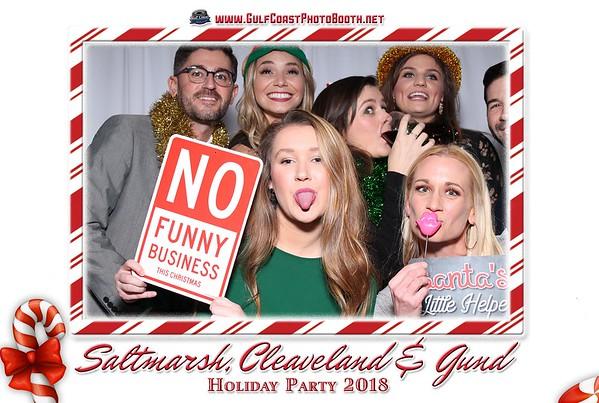 Saltmarsh Cleaveland & Gund Christmas 2018