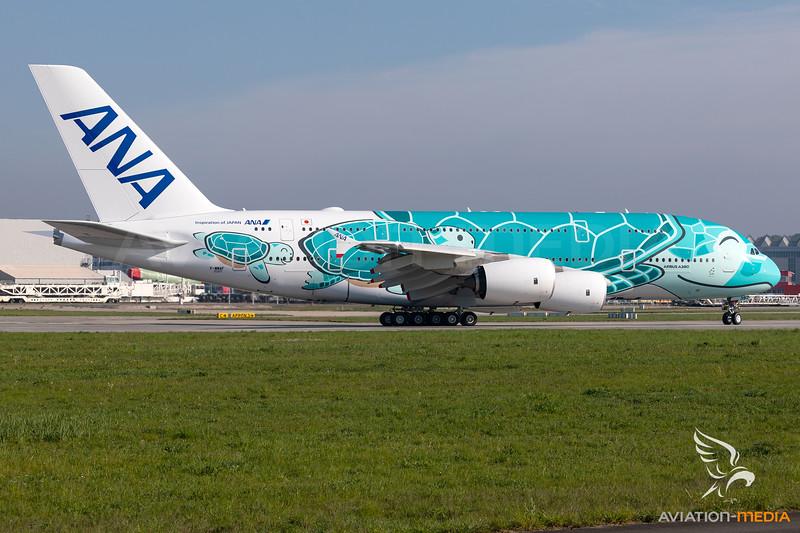 All Nippon Airways (ANA) / Airbus A380-800 / F-WWAF