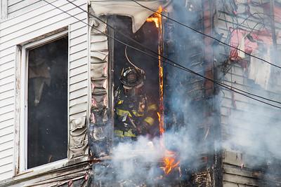 Hanover St. Fire (Bridgeport, CT) 3/21/18