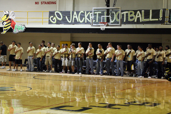 Cleburne Pep Rally Sept 17, 2009