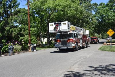 2020.06.07 Brookhaven FD & Shirley Ambulance Thanking The community Parade