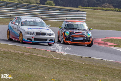 BMW 330 + Super Cooper Cup