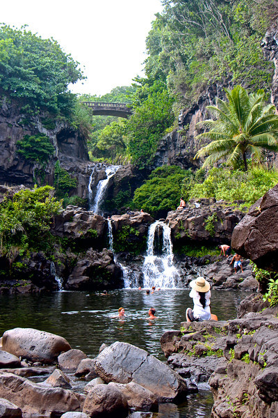 The Oheʻo Pools...(the Seven Sacred Pools)....