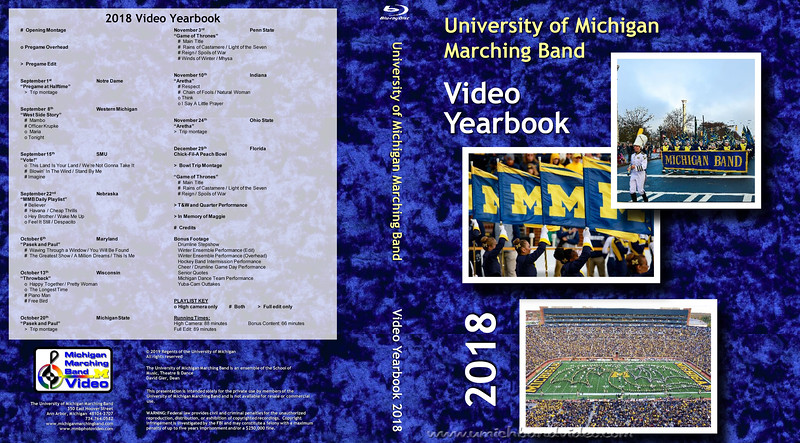 Video Yearbook Inserts