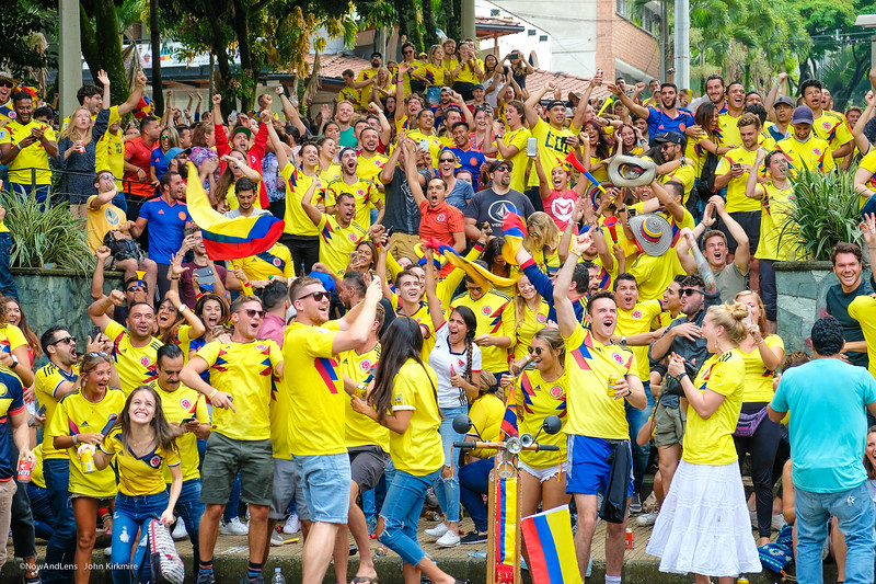 Colombia Goal!