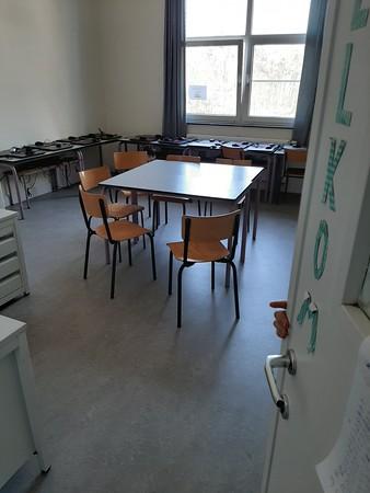 Waar zijn de leerlingen? Vind er 2