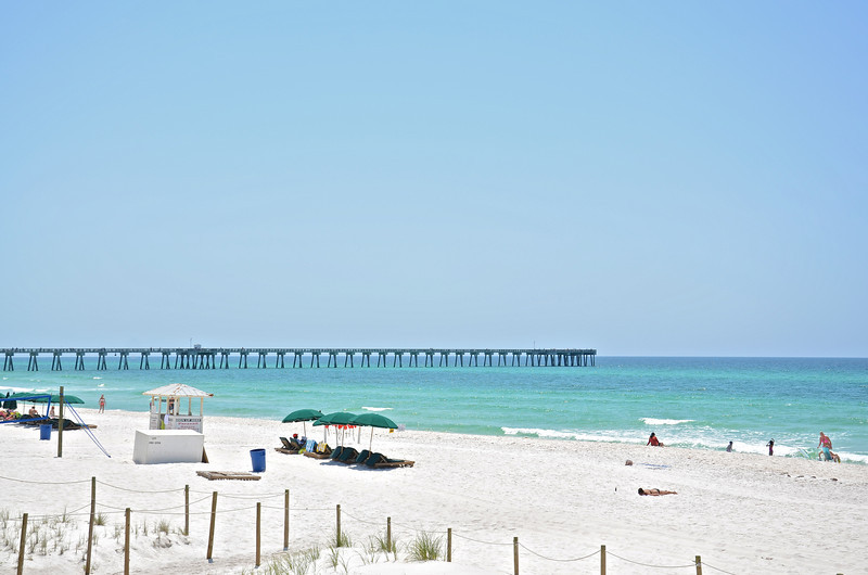 Panama City Beach is legendary for its 27 miles of white sandy beaches and as a vacation destination.  With plenty of hotels, restaurants and bars it has been a mecca for Spring Breakers for decades.