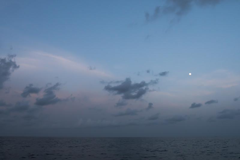 florida bay moon