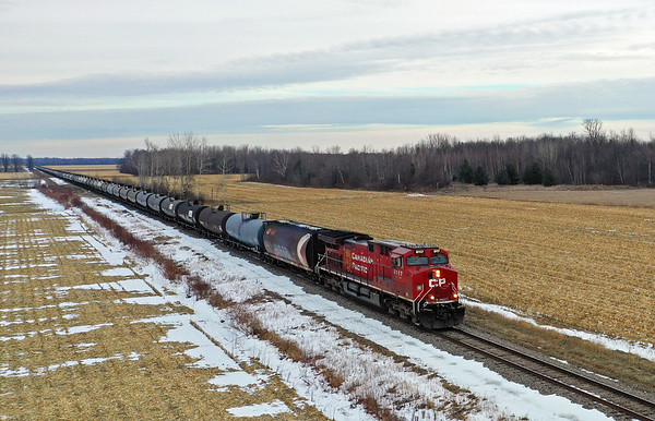 Canadian Pacific 650, Lacolle, Quebec, December 26 2019.