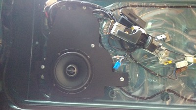 1995 Nissan 300ZX 2 Seater Front Door Speaker Installation - Canada