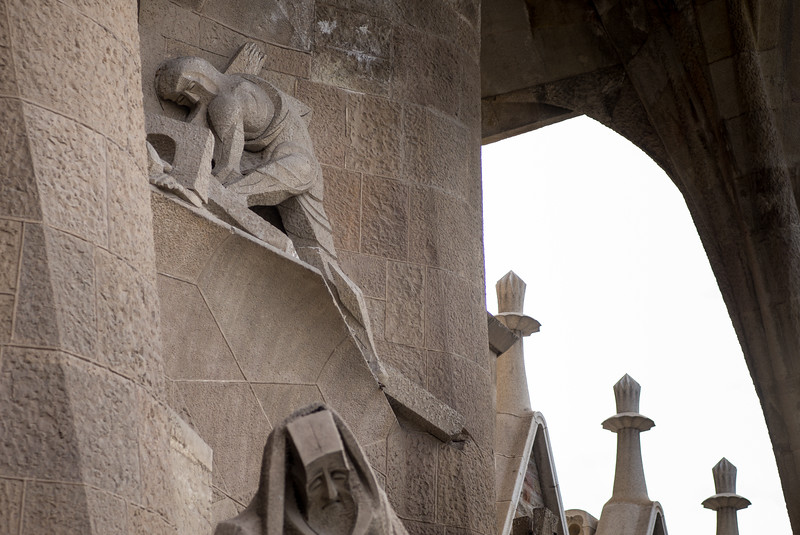 La Sagrada Familia - Passion Facade Cross