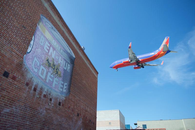 southwest plane downtown