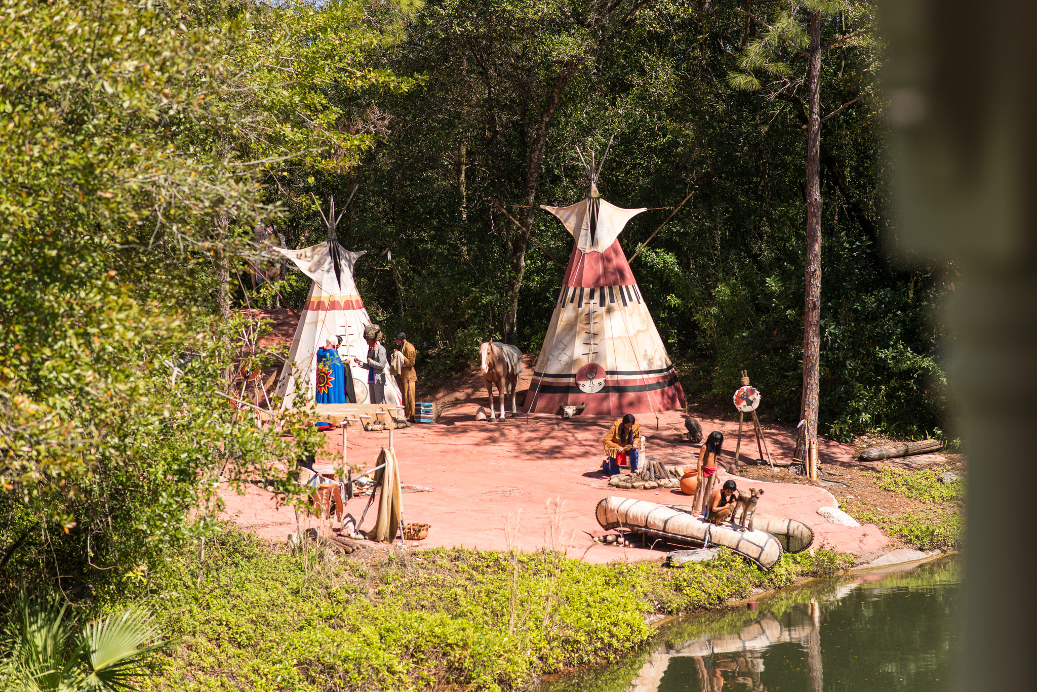 Indian Village - Walt Disney World Magic Kingdom