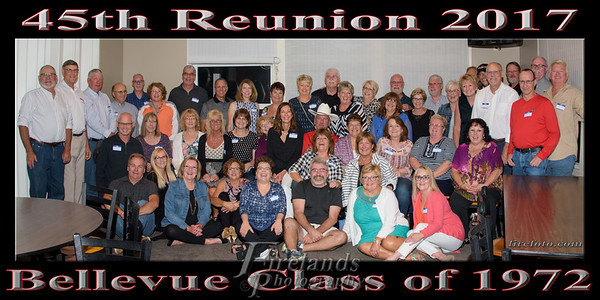 BSHS Class of 1972 45th Reunion