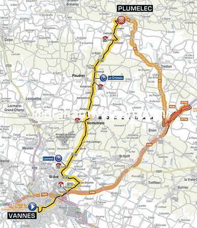 Tour de France Stage 9: Vannes > Plumelec, 28kms (TTT)