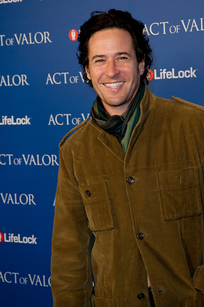 HOLLYWOOD, CA - FEBRUARY 13: Actor Rob Morrow arrives at the premiere of Relativity Media's 'Act Of Valor' held at ArcLight Cinemas on February 13, 2012 in Hollywood, California. Photo taken by Tom Sorensen/Moovieboy Pictures.