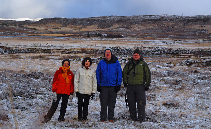 Vigdís, Þorbjörg, Eggert og Ingvi
