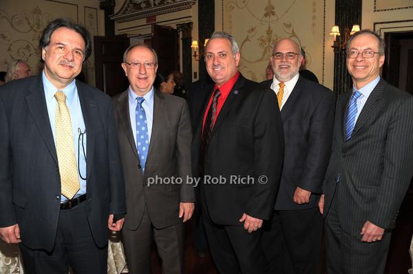 Niyazi Bodur,   Wolfgang Gilliar, Tony Repalone, Jerry Limoncelli, Leonard Aubrey photo by Rob Rich/SocietyAllure.com © 2014 robwayne1@aol.com 516-676-3939