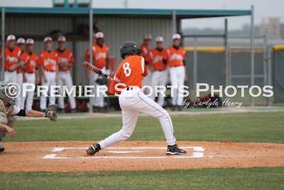 Memorial Varsity Baseball vs La Porte 4/23/10