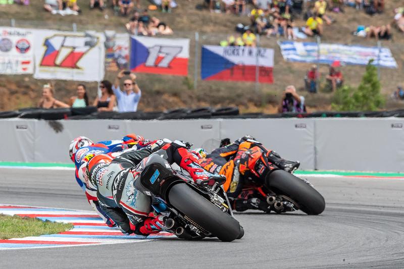 Xavi VIERGE, Mattia PASINI and Brad BINDER, Czech Republic/Brno,