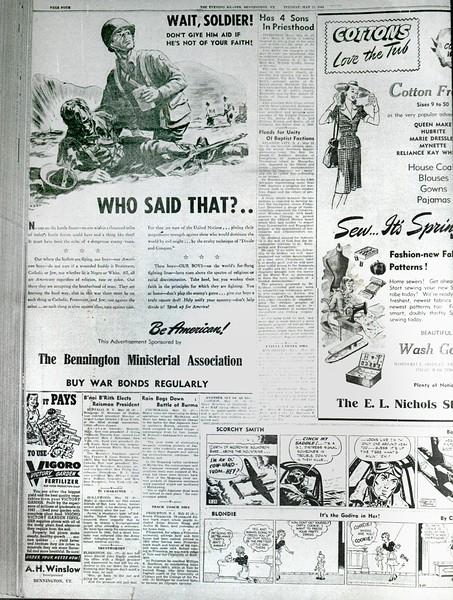 Bennington Banner History