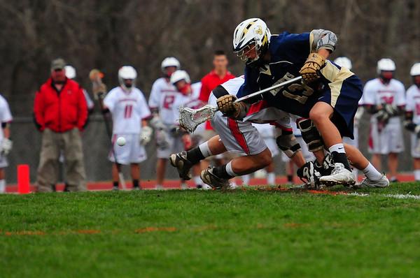 LCC Varsity Lacrosse vs Baldwinsville, NY 4.11.11