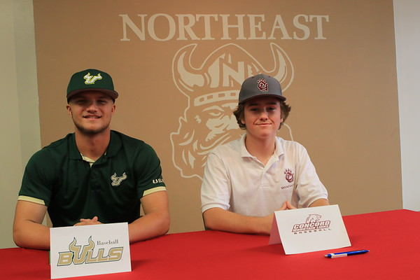 Signing Day for Cameron & Eddie