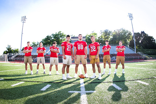 Moon Football Seniors 2021