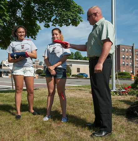 Cayer Flagpole Dedication
