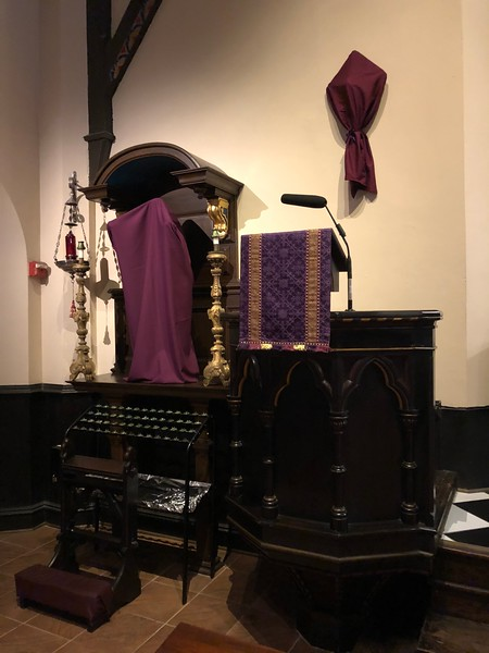 Sacred Heart Shrine, Passiontide