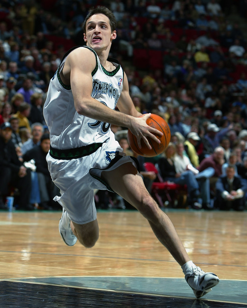 . 18. 2000 � No. 51 Igor Rakocevic.  The Wolves had no first-round pick because it was part of a three-team deal that gave them Bobby Jackson and Dean Garrett from Denver in 1999. Rakocevic, who was a Serbian combo guard, couldn�t join the Wolves for two years. He wasn�t worth the wait. Rakocevic averaged just 1.9 points and 0.8 in 42 games for Minnesota in 2002-03 before being released. Jackson had two of his least productive seasons with the Timberwolves, and Garrett was OK in his second go-round with Minnesota. (Photo by David Sherman/NBAE/Getty Images)