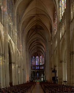 Troyes Cathedral Nave and Choir