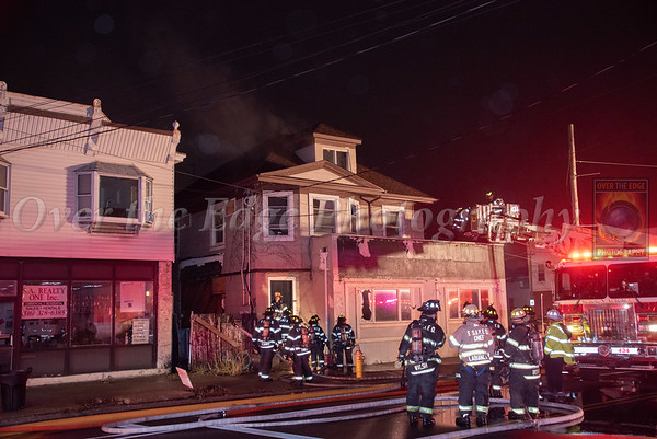 Franklin Square & Munson Building Fire 01/14/2020