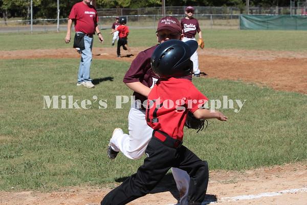 Cycle & Marine Vs Delta Minor League Baseball 9-21-13 Game One