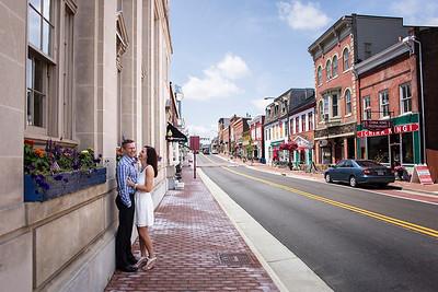 courthouse wedding in Leesburg, VA