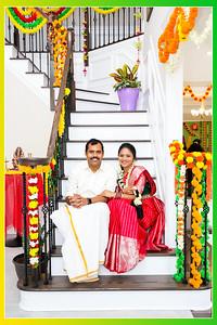 Silpa & Mohan Reddy-Satyanarayana Swamy Vratham