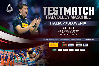 20190726 Test Match ITALIA-SLOVENIA (Maschile)