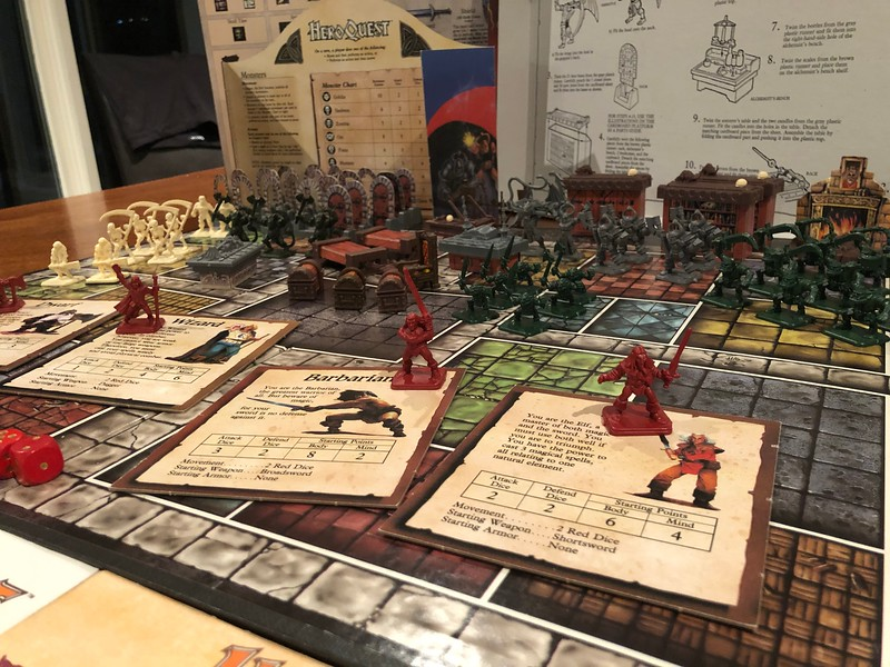 HEROQUEST GAME