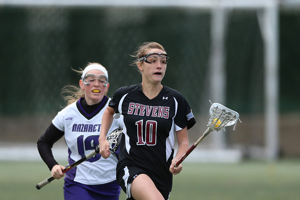 Stevens Women's Lacrosse v Nazareth April 20 2013