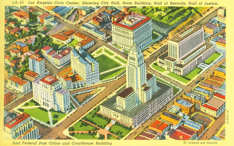 Civic Center Aerial