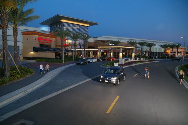 The Mall at UTC  dusk
