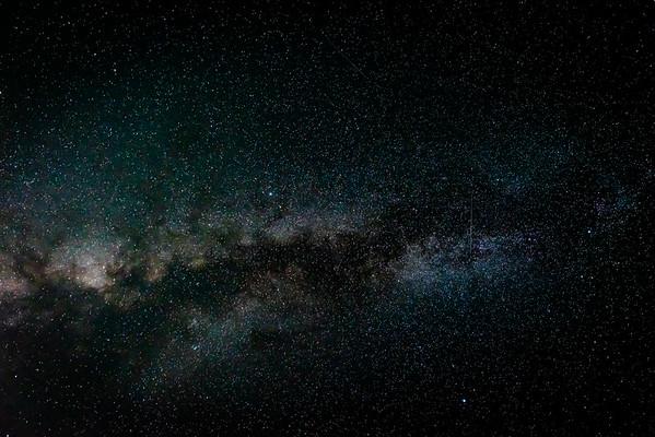Night Sky - Over Yosemite 2020