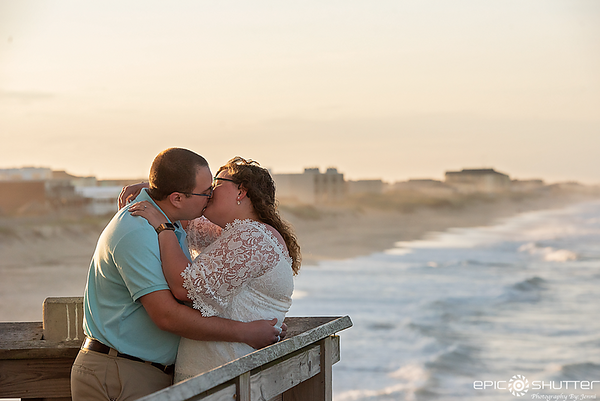 Emily and Nicholas, Engagement Portaits, Outer Banks, North Carolina