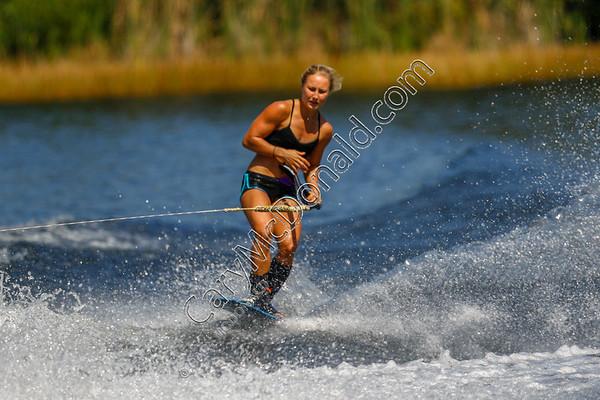 2019 - Queens Cup  Giannina Bonnemann -  trick skier