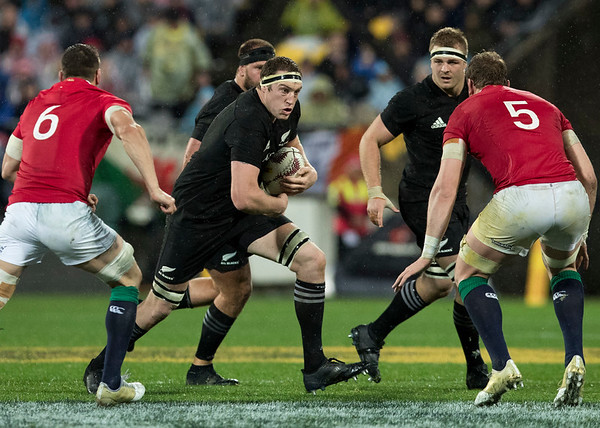 Brodie Retallick  during game 9 of the British and Irish Lions 2017 Tour of New Zealand, the second Test match between  The All Blacks and British and Irish Lions, Westpac Stadium, Wellington, Saturday 1st July 2017 (Photo by Kevin Booth Steve Haag Sports)  Images for social media must have consent from Steve Haag
