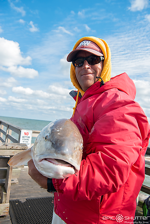 October 18, 2018 Red Drum Fishing, Fishing, Avon Fishing Pier, Avon, North Carolina, Epic Shutter Photography, Outer Banks Documentary Photographer, OBX Photographers, Hatteras Island Photographers, Cape Hatteras National Seashore